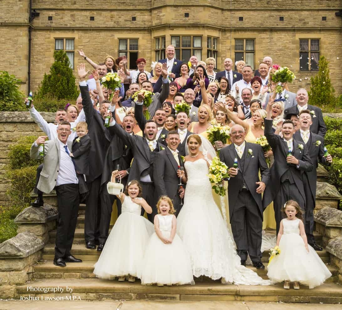 Slaley Hall Wedding Photography by David Lawson, The North's Most