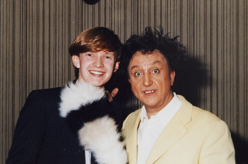 KEN DODD – FROM NOTTY ASH MEETS DAVID