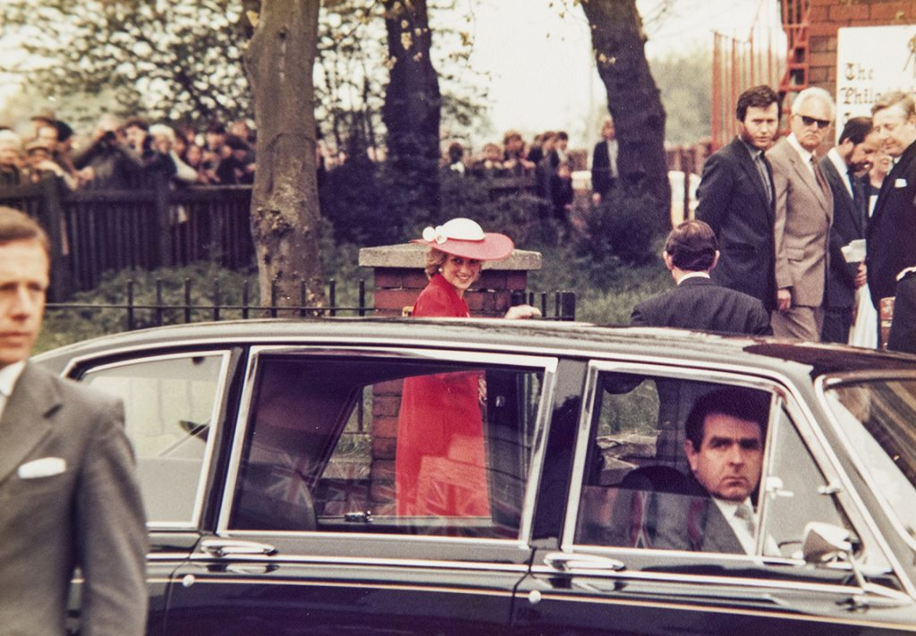 H.R.H PRINCESS DIANA – MEETS DAVID LAWSON