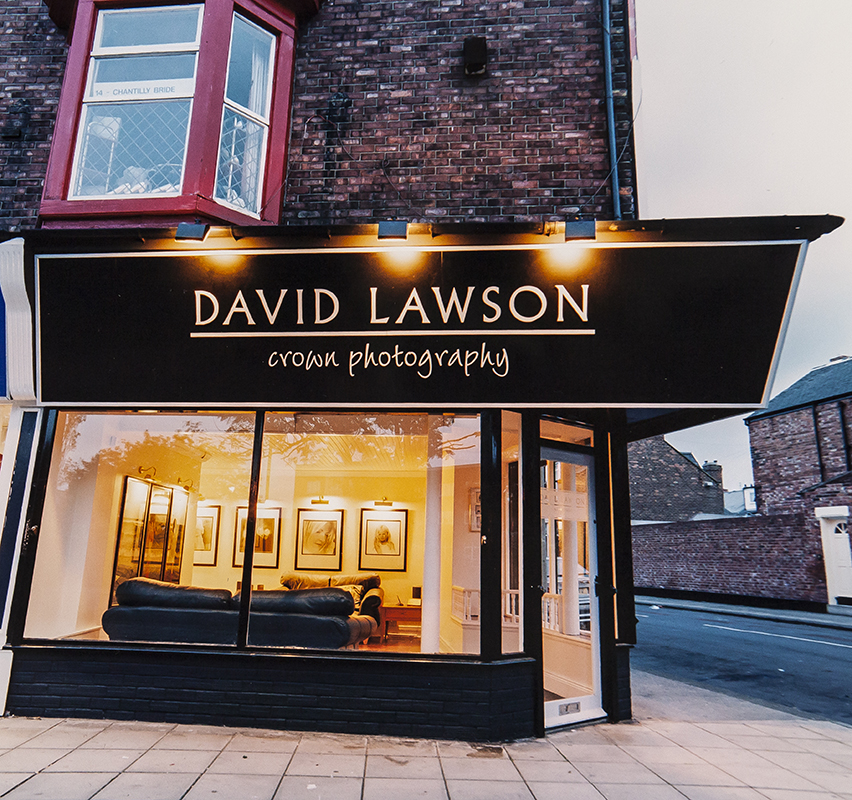 DAVID LAWSON STUDIOS – NEW RE BRAND AND PERSONALISATION OF THE BUSINESS