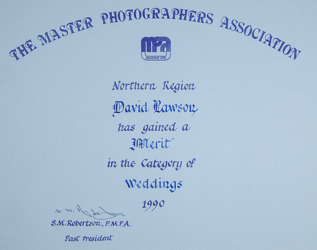 MPA WEDDING AWARD