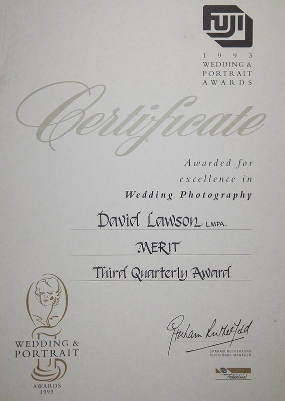 FUJI FILM – WEDDING AWARDS